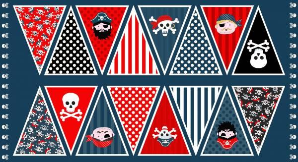 Pirates - Wimpel - Patchworkstoff