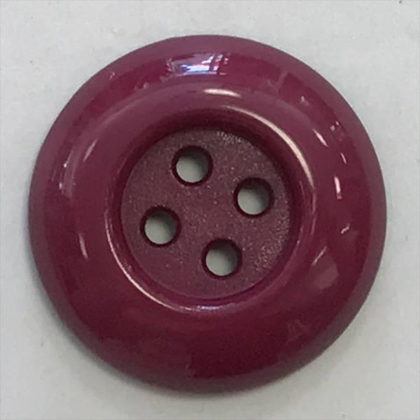 Modeknopf - rot - boredeaux - 20 mm