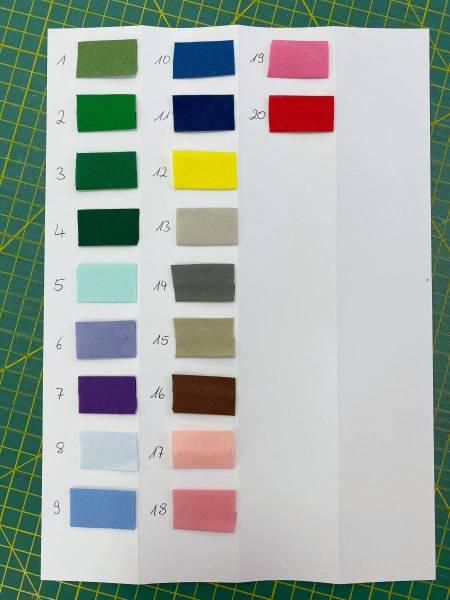 Schrägband - uni - 100% BW - 2 cm breit