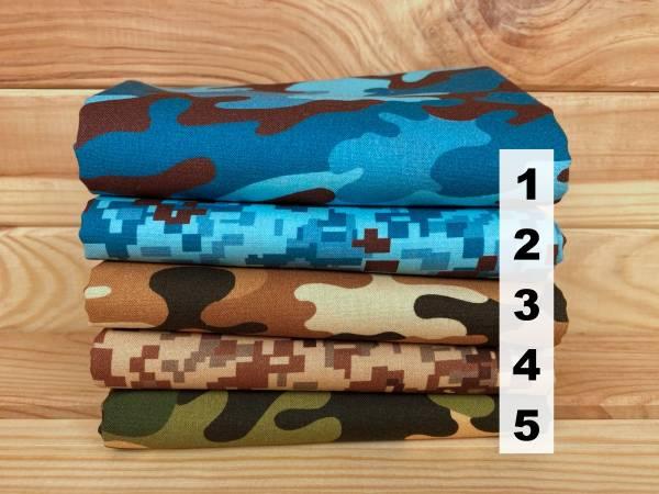 Camouflage - Stoffserie - Meterware