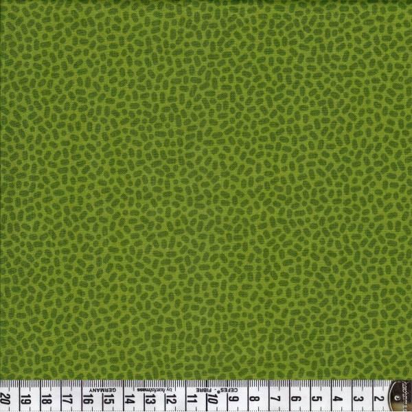 Speckles - olivgrün - Patchworkstoff