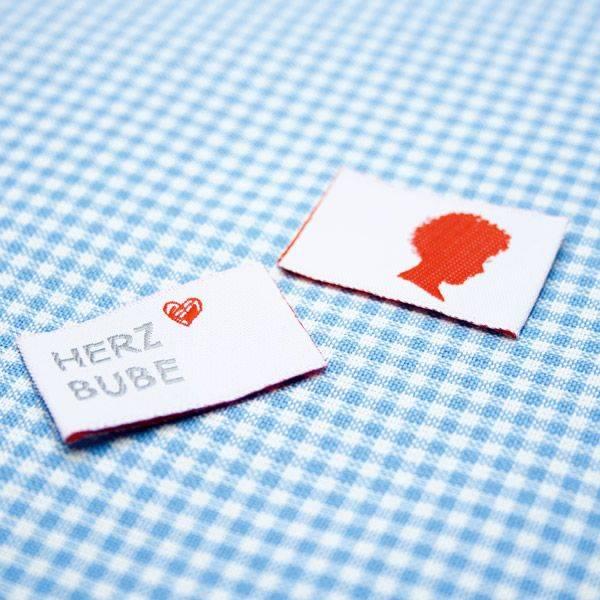 Webetikett - Label - Herz Bube