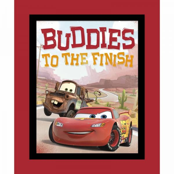 Buddies to the finish - Panel - Bilderstoff - Disney
