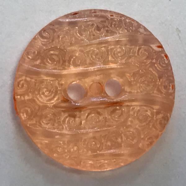 Modeknopf - orange - 18 mm