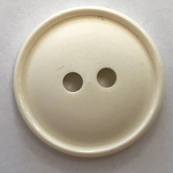 Modeknopf - weiß - 19 mm