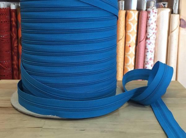 Endlosreißverschluss von YKK - türkisblau - Spiralbreite 3 mm