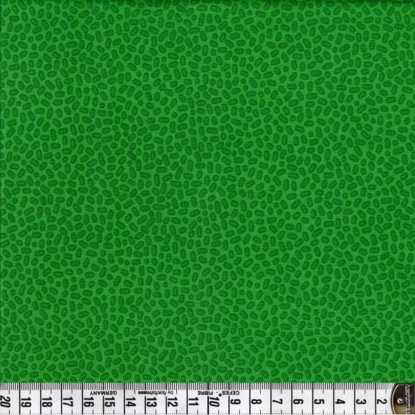 Speckles - grün - Patchworkstoff
