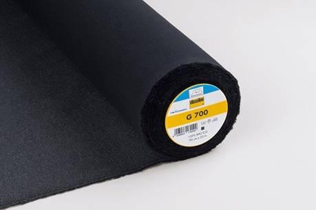 G 700 Gewebeeinlage - Vlies - schwarz