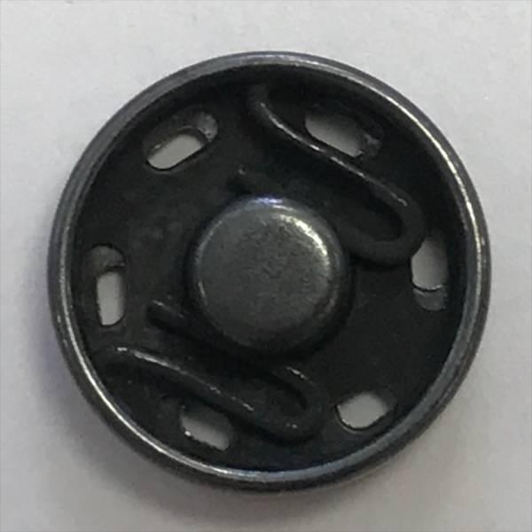 Druckknopf - grau - 15 mm